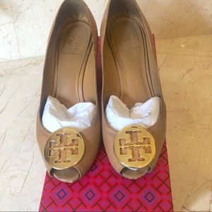 Tory Burch peep toe Wedge
